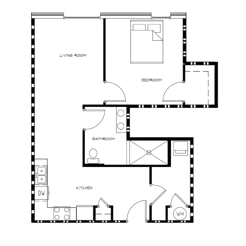 1-Bedroom---Unit-E