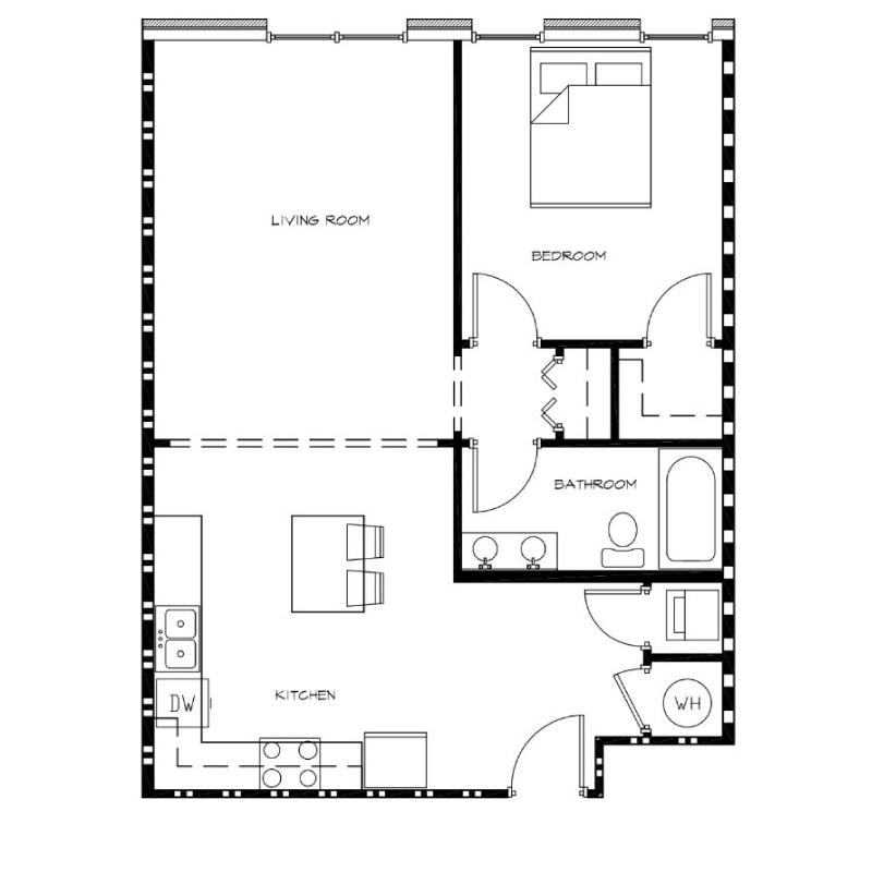 1-Bedroom---Unit-F