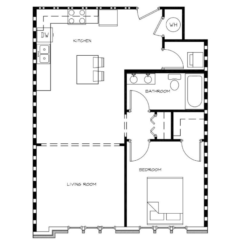 1-Bedroom---Unit-I