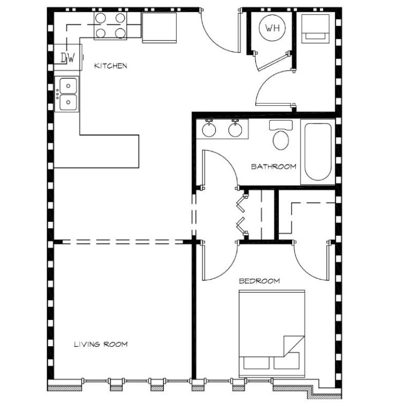1-Bedroom---Unit-M