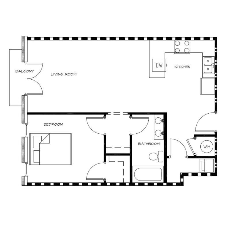 1-Bedroom---Unit-R