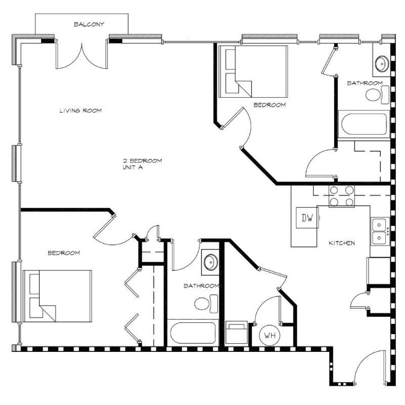 2-Bedroom---Unit-A