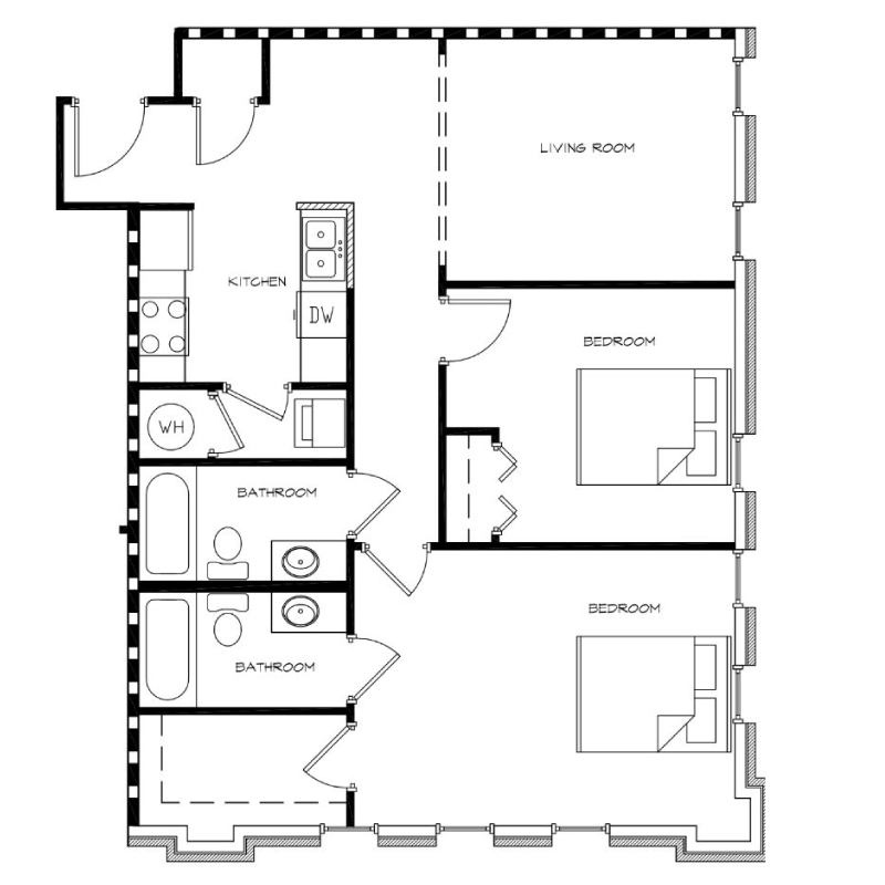 2-Bedroom---Unit-H