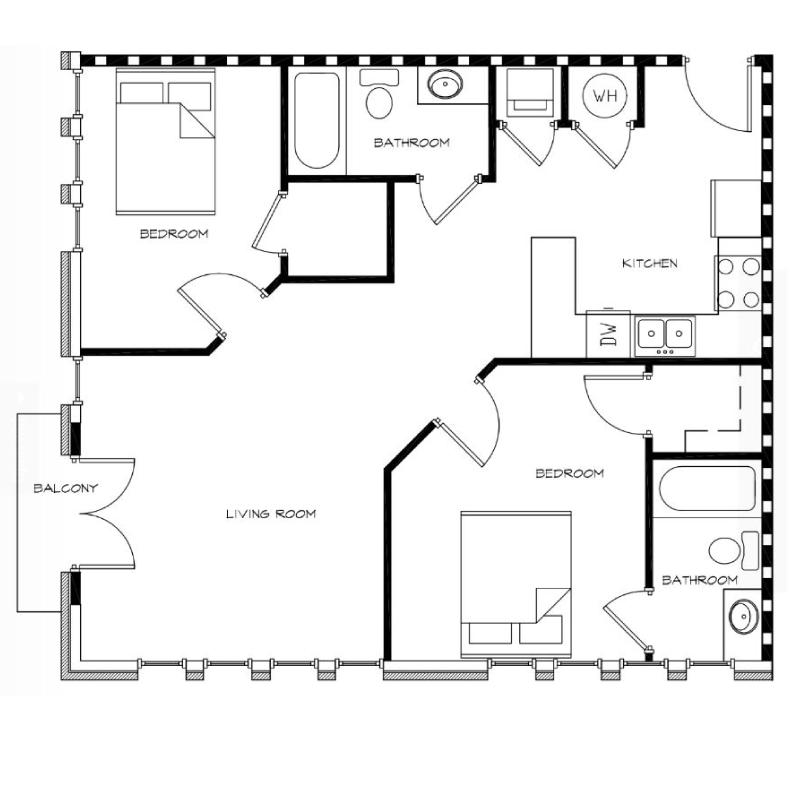 2-Bedroom---Unit-P